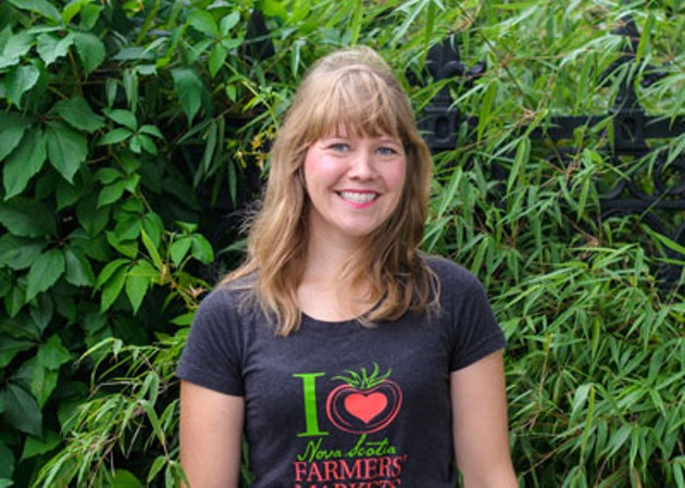 Keltie Butler, Director of Farmers' Markets of Nova Scotia - SAM KEAN