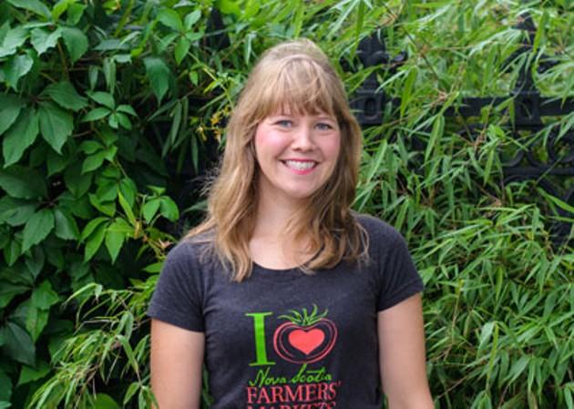 Keltie Butler, Director of Farmers' Markets of Nova Scotia - SAM KEAN