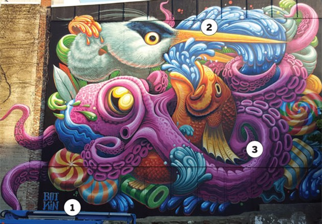 Jason Botkin's finished product at 1729 Barrington Street. - MIKE RITCHIE