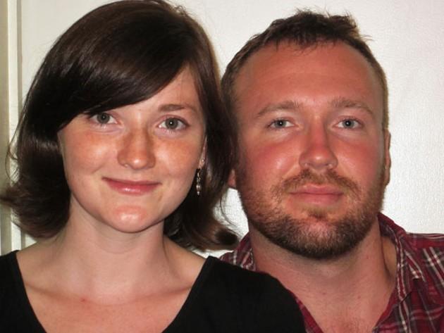 Mark Culligan (r) and Katrin MacPhee are members of Solidarity Halifax - KATRIN MACPHEE