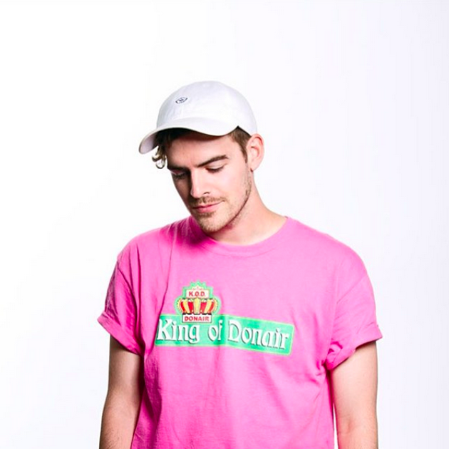 Ryan Hemsworth is king of the decks. - ARIEL LEBEAU
