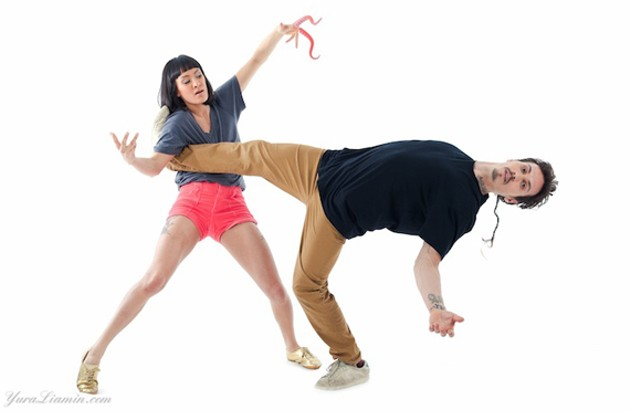 Tentacle Tribe, the Canadian-Swedish dance duo. - YURA LIAMIN