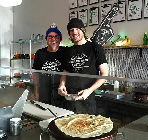 Portland Street Creperie opened on Portland Street - VIA FACEBOOK