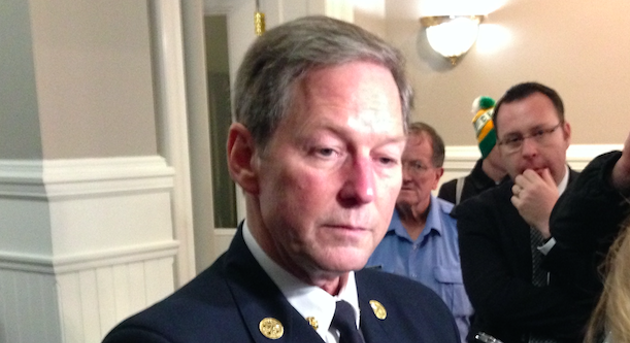 Halifax Fire and Emergency Services chief Doug Trussler. - THE COAST