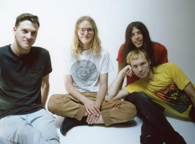 Nap Eyes, L-R: Seamus Dalton, Chapman, Josh Salter and Brad Loughead. - COLIN MEDLEY