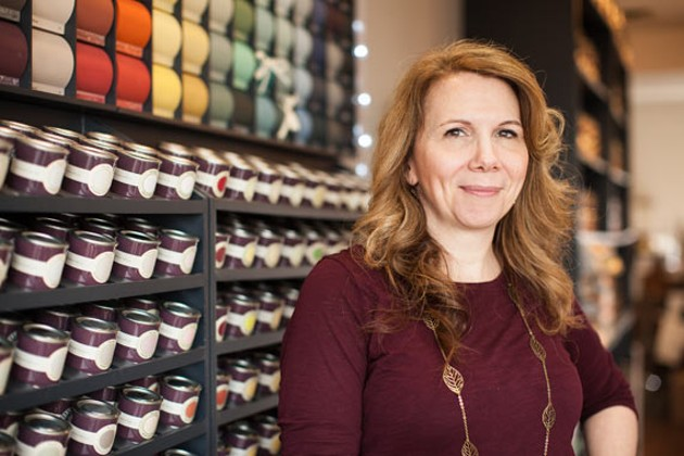 Michele Muir, a self-proclaimed paint nerd extraordinaire. - MEGHAN TANSEY WHITTON