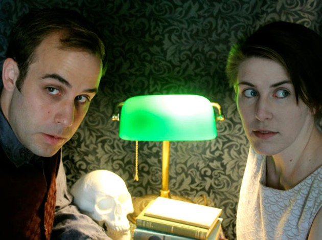 Dan Bray and Colleen MacIsaac in Follow Me. - DORIAN LANG