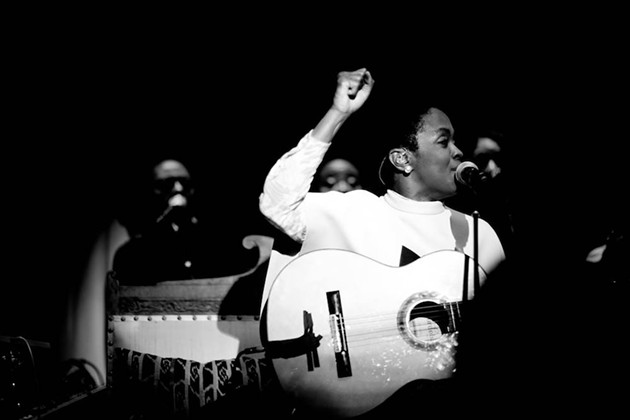 Genre-blending superstar Ms. Lauryn Hill plays the Halifax Jazz Festival July 12.