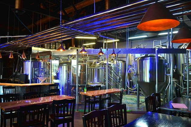 Downeast's brew set-up - VIA FACEBOOK