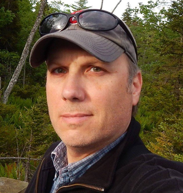 Filmmaker Paul Kimball is looking to snatch up the empty Halifax Needham riding in the next provincial election, but not for the NDP. - VIA FACEBOOK