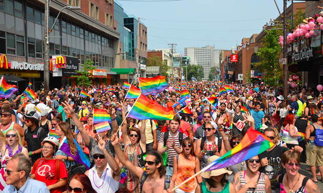 Pride festival celebrations last year on Spring Garden Road. - DYLAN WHITE
