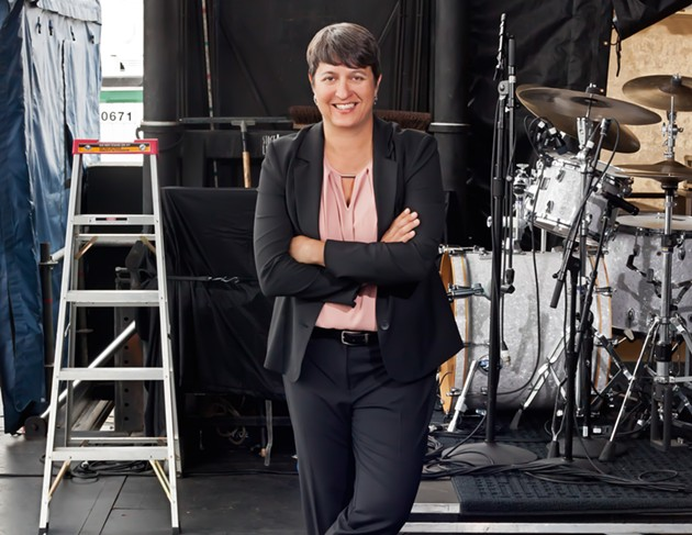 Heather Gibson is leaving Halifax to produce the NAC Presents concert series. - TIMOTHY RICHARD
