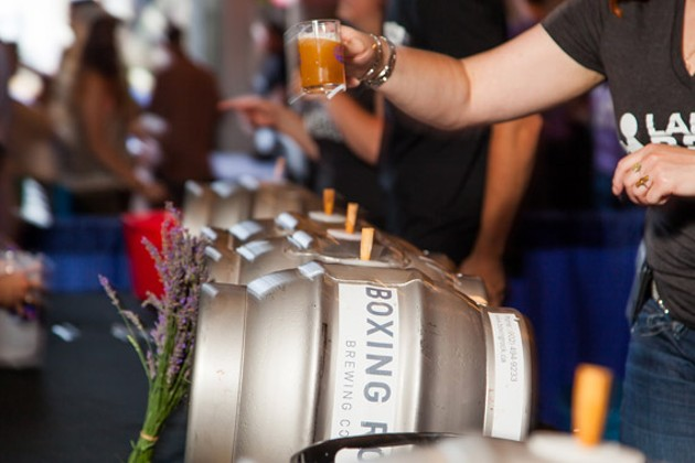 Boxing Rock will provide a few of the 300+ beers on tap this weekend.