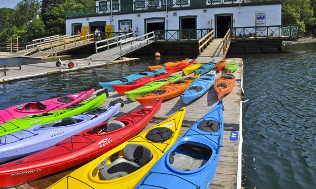 Get out on the water via watercraft rentals at the St. Mary's Boat Club. - VIA HRM