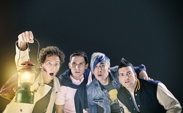 Marianas Trench laying down serious Indiana Jones vibes en route to the Scotiabank Centre this November. - COURTESY OF BAND