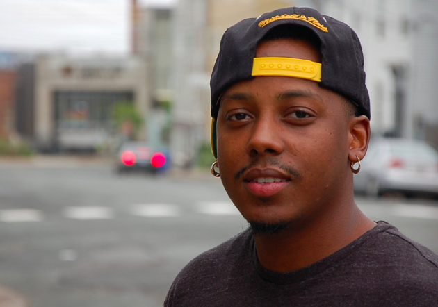 Organizer Martez Wiggins says the north end needs some positivity now more than ever. - THE COAST