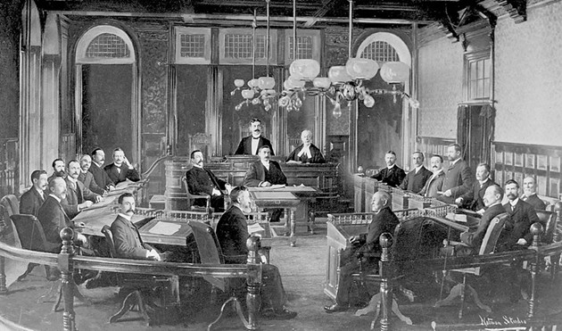 The Halifax council of 1903 had more moustaches than are seen today at City Hall. - VIA WIKIPEDIA