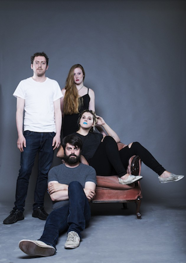 See Hello Delaware rock their new LP at The Seahorse  (see 6). - PHOTO BY KYLEE NUNN