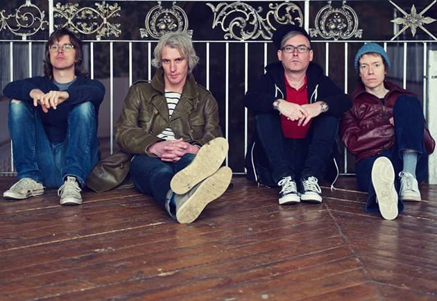 Chris, Andrew, Patrick and Jay. - LISA MARK