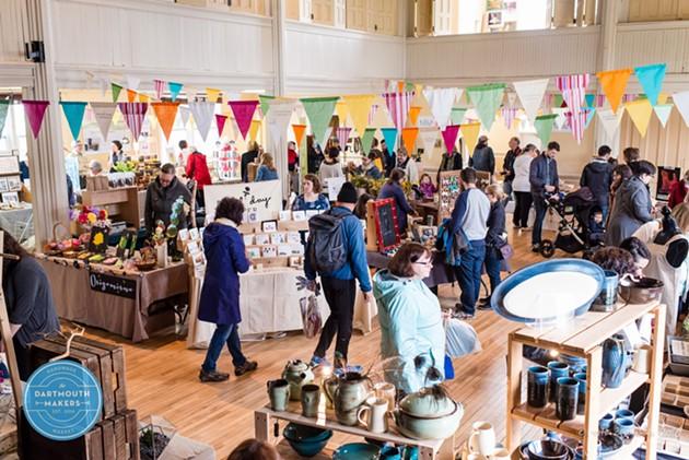 Dartmouth Makers Winter Market - GINA COMEAU
