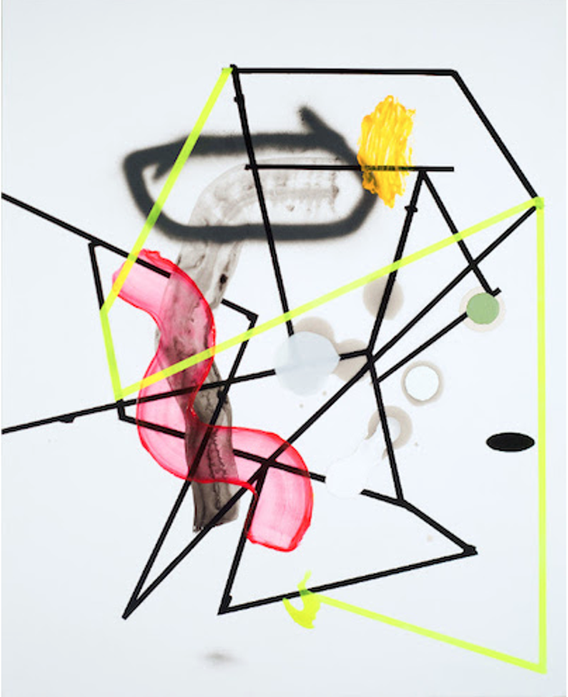 Jean Sébastien Denis' Edgy Canvases are a study of depth (see 5). - JEAN-SÉBASTIEN DENIS