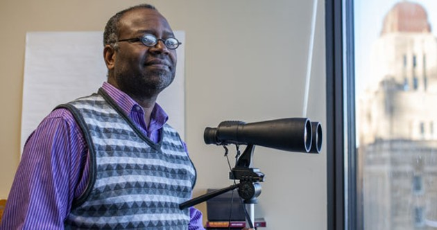 """How many black men have been shot, or have shot someone in this city? If we are not at epidemic proportions yet from a population health perspective, then I don't understand population health."" - —social worker Robert Wright - RILEY SMITH"