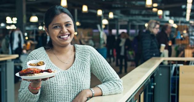 Elakkia Priya Sakthikumar is serving up spicy south Indian cuisine. - LENNY MULLINS