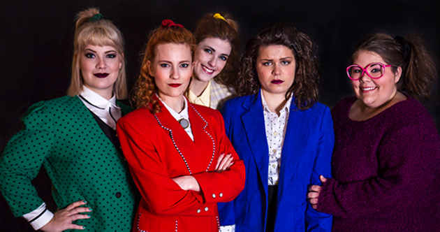 Blazer envy with Heathers: The Musical. - EMILY JEWER