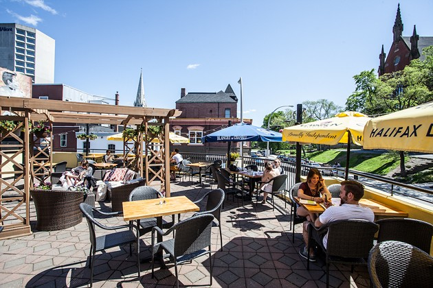 The soon-to-be location of this summer's newest patio bar, The Rooftop - RILEY SMITH