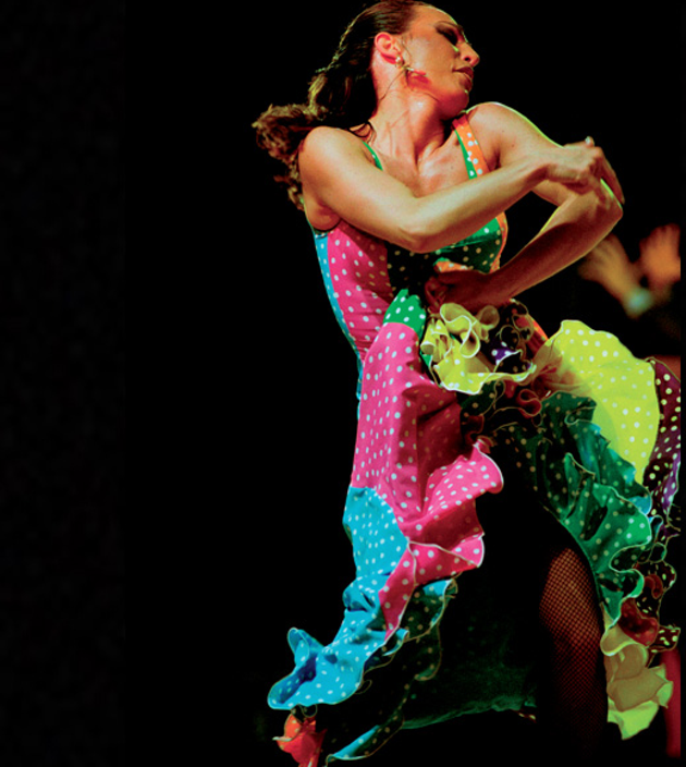Maria Serrano and Maria Osende deliver a powerful dance performance at the Atlantic Flamenco Festival (see 4). - MARIASERRANO.COM SCREENSHOT