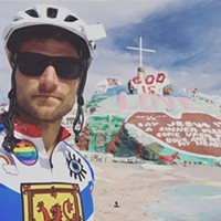 Rich Aucoin bike blog #1: Los Angeles to Arcosanti