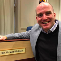 Matt Whitman has a media sensitivity problem