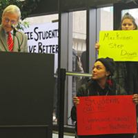 Students call for Dalhousie interim president to resign