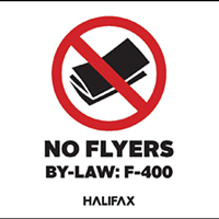Flyer foes fear not, new by-law getting closer