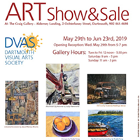 Dartmouth Visual Arts Society annual show and sale