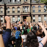 Thousands of Halifax climate strikers demand action