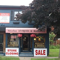 Halifax is losing one of its last antique shops