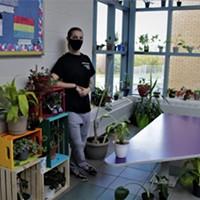 The school where plants fill the halls