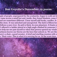 An advent calendar of poetry: December 19