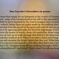 An advent calendar of poetry: December 20