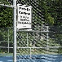 Where to find a tennis court in Halifax
