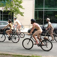 How to ride, and watch, this weekend's Naked Bike Ride