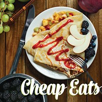 Chow down on Cheap Eats
