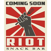 Riot Snack Bar revs up