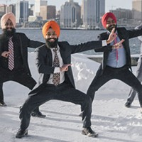 The Maritime Bhangra Group is positively powerful