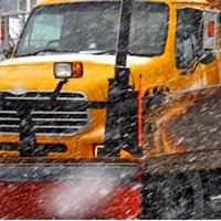 Snow storm cleanup dicking over Valentine's Day plans