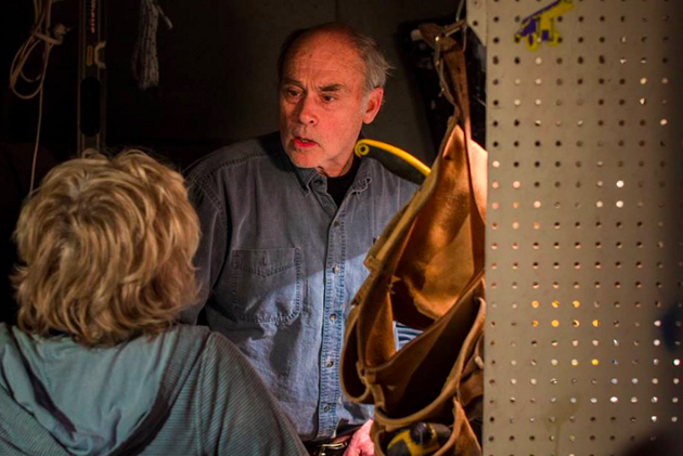 John Dunsworth on the set of Nichols And Dimez. - CALEY MACLENNAN