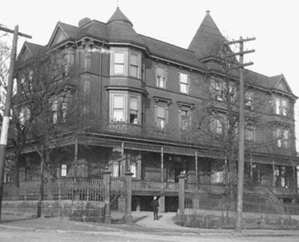 The property, circa 1900, as photographed by J. A. Irvine. - NOVA SCOTIA ARCHIVES