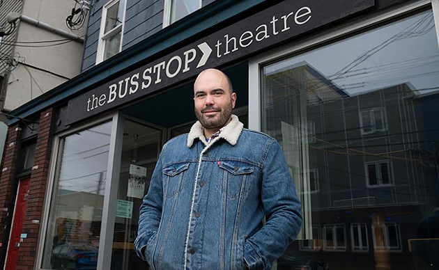 """""""Our time is coming up if we don't do something,"""" says The Bus Stop's Sébastien Labelle. - IAN SELIG"""
