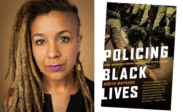 Montreal author Robyn Maynard will be speaking about her new book, Policing Black Lives, at the North Memorial Library on Thursday, 
